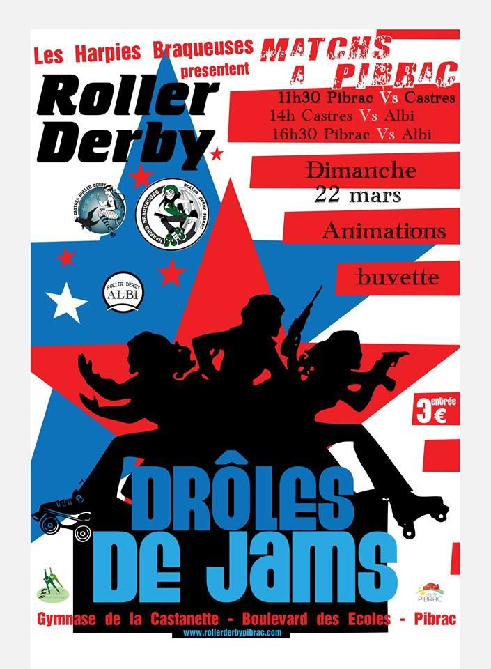 Tournoi Roller Derby Pibrac