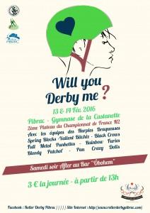 Affiche championnat Derby