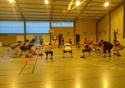 Séance de squats pour le Offskate - Ça chauffe